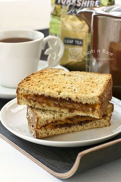 Grilled Marmite Cheese Sandwich- I need to try this one day