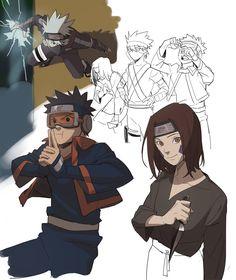 Kakashi, Naruto Y Boruto, Anime Naruto, Team Minato, Naruto Teams, Wallpapers Naruto, Naruto Fan Art, Boruto Naruto Next Generations, Amaterasu