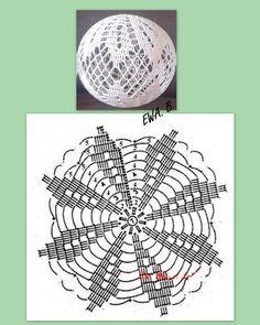 Best 12 Crochet Christmas Bauble Doily – Page 517562182178910164 – SkillOfKing. Diy Paper Christmas Tree, Crochet Christmas Ornaments, Christmas Crochet Patterns, Christmas Baubles, Christmas Crafts, Crochet Doily Rug, Crochet Ball, Crochet Stars, Crochet Snowflakes
