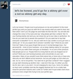 Words of Luke brooks.    He understands that he can't nor can anyone be a perfect human being. I  have so much respect for him, it's unreal!