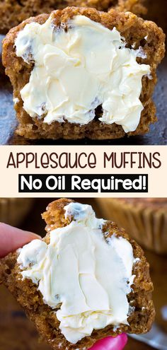 Healthy Oatmeal Recipes, Healthy Muffin Recipes, Healthy Baking, Vegan Recipes, Copycat Recipes, Healthy Oils, Healthy Nutrition, Nutrition Tips, Eating Healthy