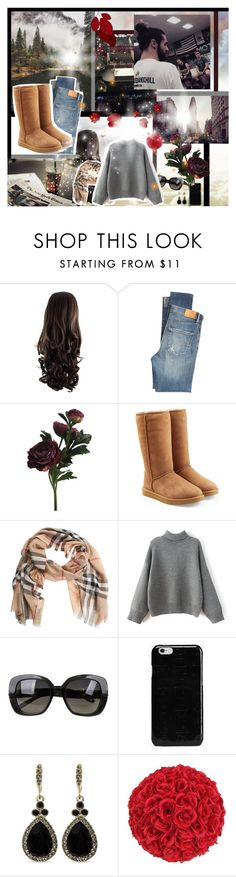 """WWE Outfits #85"" by annacrystal ❤ liked on Polyvore featuring WWE, Citizens of Humanity, UGG, Burberry, Bottega Veneta, Maison Margiela, Givenchy, outfits and sethrollins"