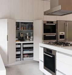 kitchen pantry layout idea. print screen from houzz.com