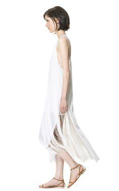 Long studio dress