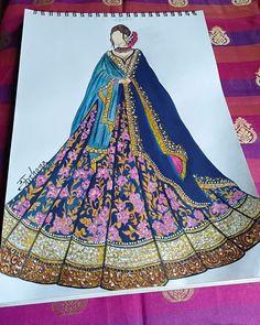 Fashion Drawing Dresses, Fashion Illustration Dresses, Fashion Illustration Sketches, Fashion Sketches, Illustrations, Dress Design Drawing, Dress Design Sketches, Fashion Design Drawings, Fashion Illustration Tutorial