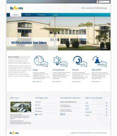 WordPress site baier-michels.info uses the The7 theme wordpress