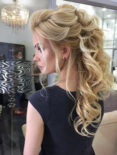 Coiffure De Mariage  : Featured Hairstyle: Elstile; www.elstile.ru; Wedding hairstyles ideas.