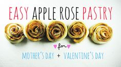 apple rose puff pastry - Google Search