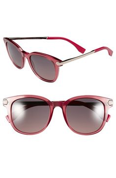 Fendi 51mm Retro Sunglasses