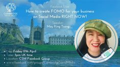 A presentation delivered for the Cambridge Social Media Facebook Group about how to create FOMO for your business RIGHT NOW - offering 8 practical ideas on #FOMOMarketing Sell Tickets, Uk Time, Blog Writing, Right Now, May, Cambridge, How To Become, Social Media, King
