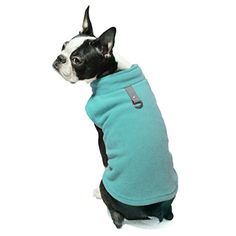 Gooby Every Day Fleece Cold Weather Dog Vest for Small Dogs, Turquoise, X-Large -- Check out this great article.