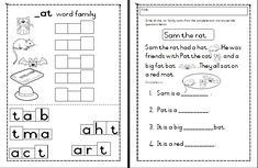 Welcome to Worksheets for Africa! It is our goal to ensure that teachers, parents, care givers and educators have access to quality educational worksheets Word Family Activities, Word Families, Teaching Materials, T 4, Worksheets, Language, Education, Words, School