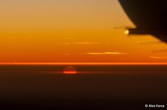 """""""Sunset on the way to Poland"""" by Alexandru from LumeaMare.ro as contributed to http://bbqboy.net/19-views-plane-window/"""