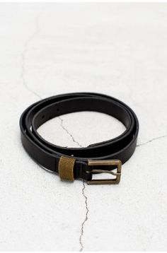 Simple Belt Nero | $129.00