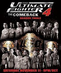 The Ultimate Fighter 4 Finale.