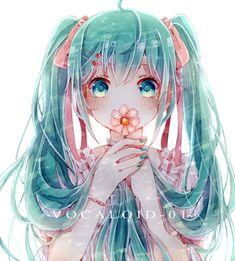 Lovely Cartoon T-Shirt Hatsune Miku Vocaloid Tee Men Women Short Sleeve Anime Chibi, Manga Anime, Anime Art, Yandere Manga, Desu Desu, Vocaloid Characters, Mikuo, Image Manga, Kawaii Anime Girl