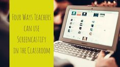 Have you considered how you can use video to improve your instruction and feedback? Check out these four ways you can use Screencastify in the classroom! High School English, English Classroom, Being Used, Improve Yourself, Periodic Table, Canning, Writers, Blog, Check