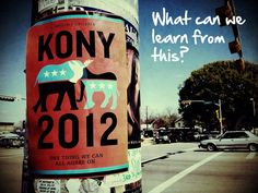 In the wake of Kony 2012, it's important to highlight the good and bad of this incredible online movement.     What else can we learn?     #Kony #nonprofit #invisiblechildren