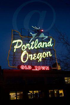 Portland, Oregon | #signage #Portland #inspiration | Six Pony Hitch
