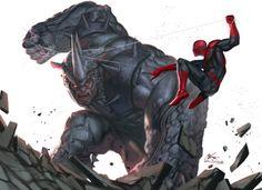 Rhino | Spider-Man | In-Hyuk Lee