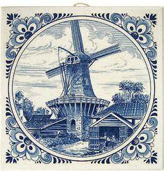 Коллекция картинок: Рисунки старинных голландских изразцов