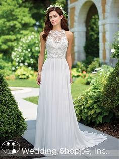 Enchanting 117174 Chiffon Wedding Dress