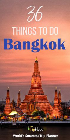 Things To Do In Bangkok - Looks like we have a few things added to our todo list - TheOpportunisticTravelers.com