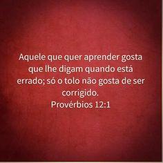 Provérbios 12:1
