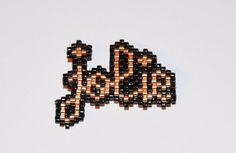 Broche jolie perles miyuki de la boutique Makeristerie sur Etsy