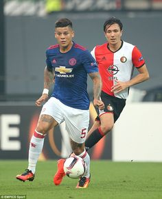 Marcus Rojo struggled on the night, doing little to improve his chances of…