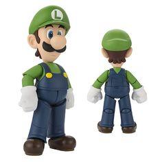 Super Mario Luigi SH Figuarts Action Figure