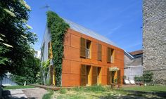 ICONE HOUSE / Paillard-Jumeau PERIPHERIQUES ARCHITECTES – nowoczesna STODOŁA…