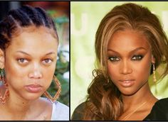 Miss Tyra w/out makeup. I think she looks better without all that makeup caked on her face. NATURAL BEAUTY ALL THE WAY!