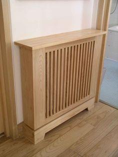 radiator cabinet bespoke made by Peter Henderson Furniture, Brighton, UK