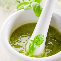 SPICY THAI-STYLE PESTO - A great pesto to have on hand for a quick salad with shredded cabbage or a great warm weather noodle salad. Add any leftover rotisserie chicken or grilled steak or pork. Pesto Vinaigrette, Leftover Rotisserie Chicken, Spicy Thai, Bechamel Sauce, Thai Dishes, Pasta Al Pesto, Recipe Details, Appetizer Recipes, Carne