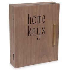 Caja de llaves 20 x 25 cm CARVING HOME