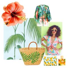 Getting ready to do some more island themed shoots today. One of my dream destinations is Havana and it's been on my mind to day.   Images #Polyvore created by @kaylaraydo