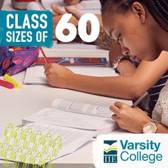 How do you plan on standing out? With our average class size being 60, our lecturers are focused on you and what you need. This means better results that get you noticed, no matter the field you choose.  Varsity College is an educational brand of The Independent Institute of Education (The IIE).