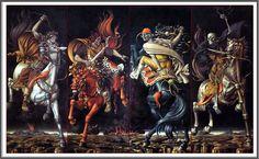 Werner Peiner (1897-1984), Les Quatre Cavaliers de l'Apocalypse.