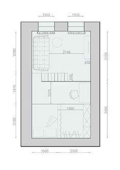 2 Apartments Under 30 Square Metre U2013 One Light, One Dark