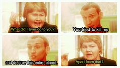 This was a hilarious scene.  One of my Ninth Doctor favorites.