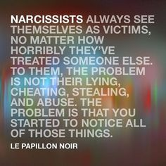 Narcissistic Abuse Recovery — Nothing is ever their fault. Narcissistic People, Narcissistic Behavior, Narcissistic Sociopath, Narcissistic Mother, Abusive Relationship, Toxic Relationships, Relationship Memes, Trauma, Just In Case