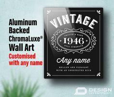 70th Birthday 70th Birthday Gift High Quality by DesignInventPrint