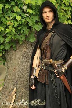 Ensembles Pagan Wicca Witch Medieval male #ensemble.
