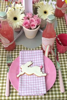 Top 16 Easter Table Designs With Bunny – Easy Interior Decor For Cheap Party Project - DIY Craft (4)