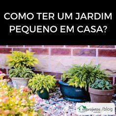 Veja dicas incríveis de como ter um jardim pequeno em casa. Como escolher o local, inspirações para seu jardim e muito mais. Confira!