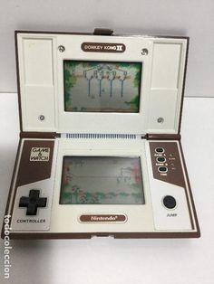 NINTENDO GAME&WATCH DONKEY KONG II AÑOS 80 - Foto 1