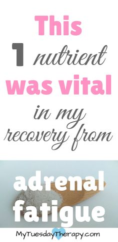 This was an awesome help in my adrenal fatigue recovery. | Adrenal Fatigue Diet.  | How to avoid afternoon crash. | Adrenal Fatigue Recovery. | Adrenal Fatigue and Salt. | Adrenal Fatigue Cravings. via @www.pinterest.com/mytuestherapy