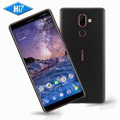 New Original Nokia 7 Plus 4G RAM 64G ROM Android 8 Snapdragon 660 Octa core 6.0'' 2160x1080P 18:9 3800mAh Bluetooth 5.0 16.0MP  Price: 428.00 & FREE Shipping  #tech|#electronics|#bluetooth|#computers Fingerprint Recognition, 7 Plus, Hd Video, Bluetooth, Electronics Gadgets, Tech Gadgets, Core, Android, Mobile Phones
