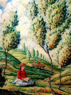 Painting of a woman reading by Mark Drake Briscoe. Illustrations, Illustration Art, Reading Art, World Of Books, Photos, Pictures, Lovers Art, Great Artists, Female Art